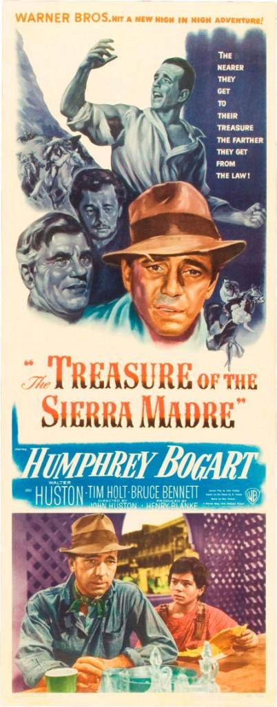 F006 Treasure Sierra Madre insert card
