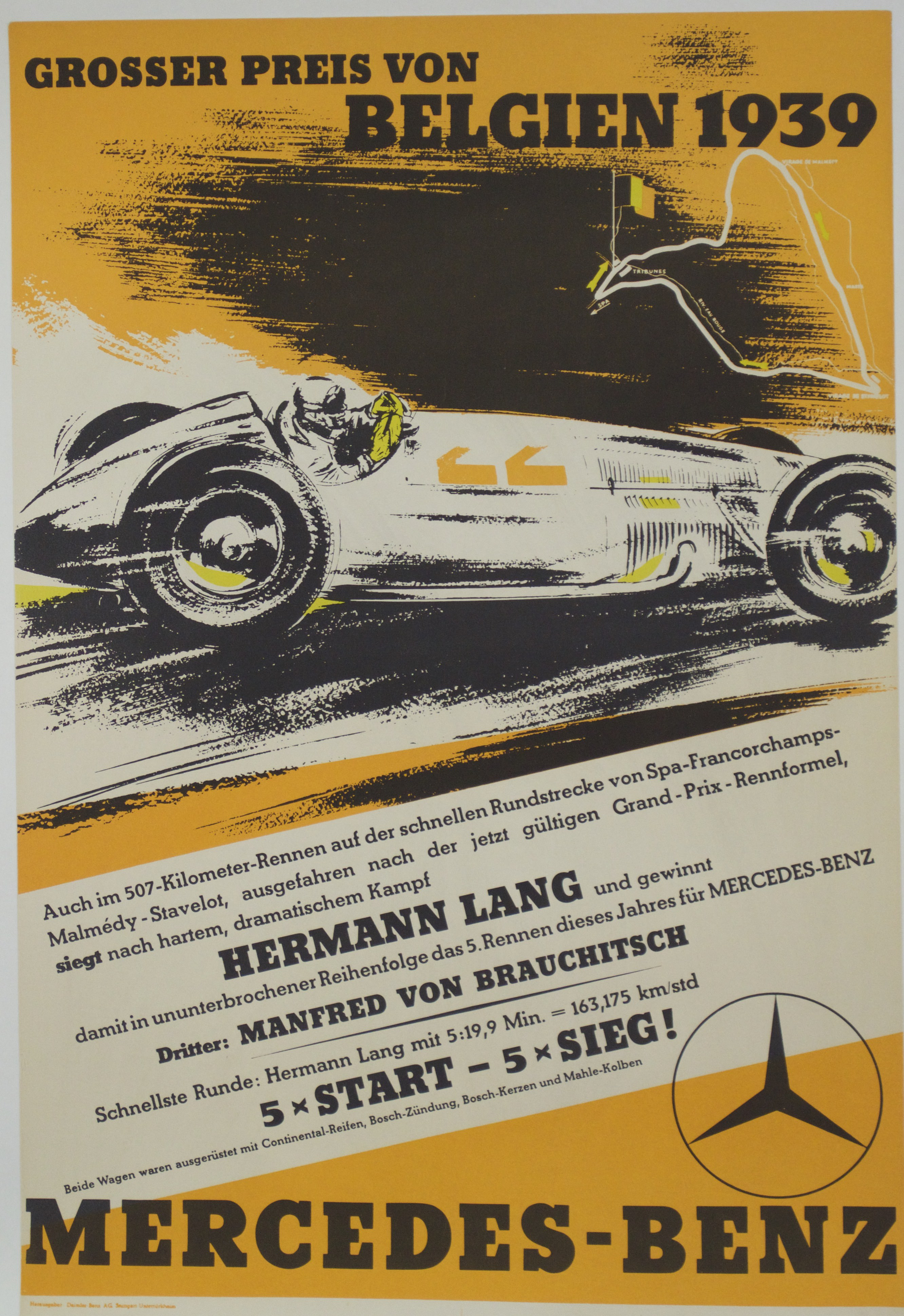 Mike gotwalt indian river poster company page 11 for Vintage mercedes benz posters